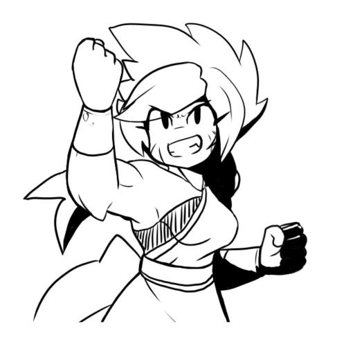 TOUGH Arlie by Kenji on twitter!