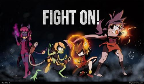 Fight on!