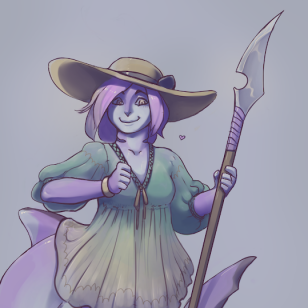 Shark Girl by Rocospade