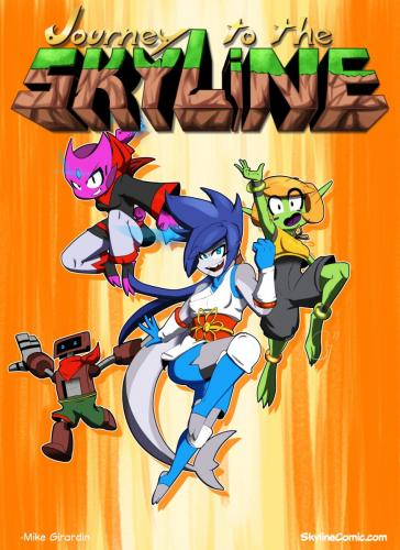 Journey to the Skyline in Freedom Planet clothes