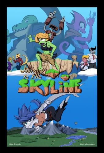 Skyline announcement art